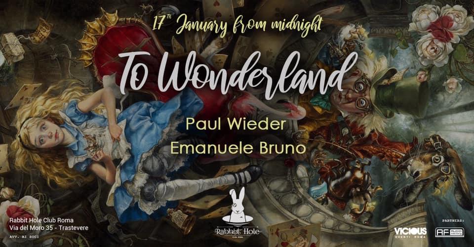 to Wonderland / Rabbit Hole Club